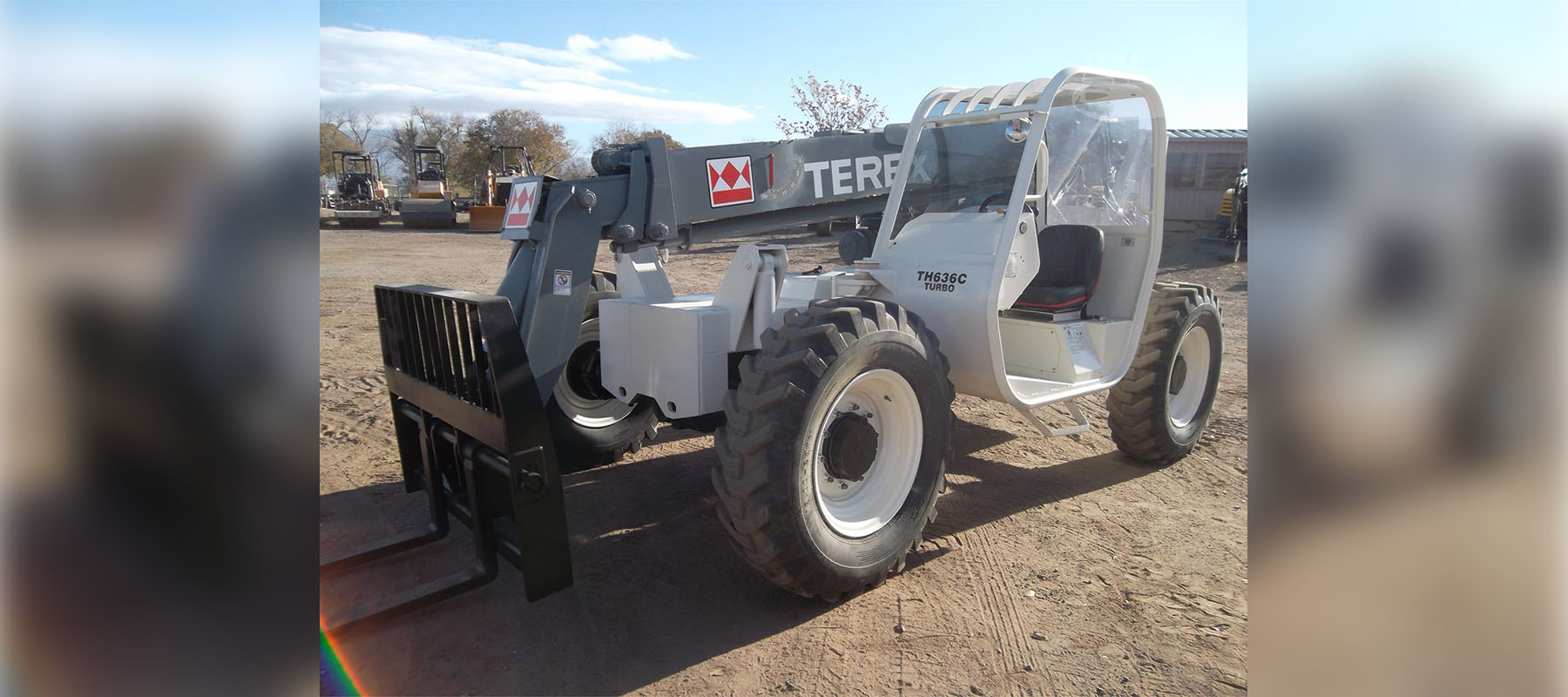 Terex Telescopic Forklift from Inventory